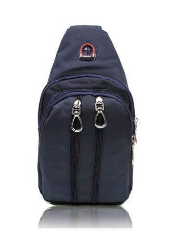 Attraxion Men's and Accessories blue Kieth Crossbody Bag for Men E2906ACBB083E6GS_1