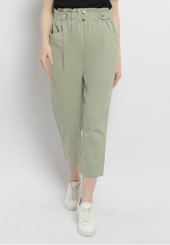 Just Out green Kazumi Pants 7E5BFAAF38ACFFGS_1