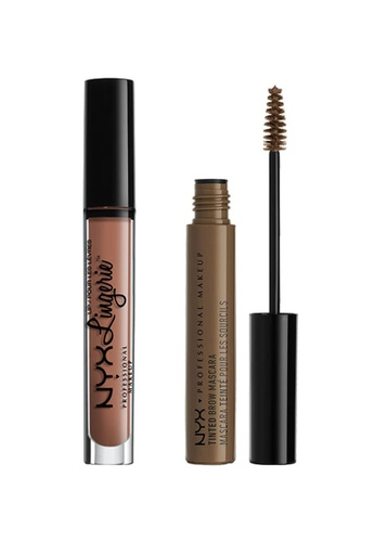NYX Professional MakeUp brown NYX PROFESSIONAL MAKEUP Nude Bundle - Set 2 4CD25BE8DA34E7GS_1