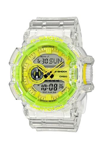G-SHOCK white CASIO GSHOCK Original Watch For Men GA-400SK-1A9DR 142D8AC6FA5C78GS_1