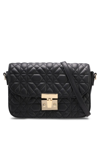 Mango black Embroidered Handle Bag 7B2F2ACB85E7D7GS_1