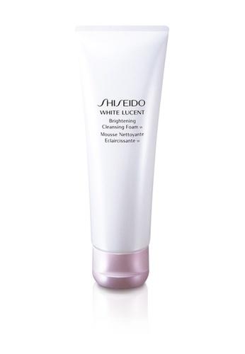 Shiseido pink Shiseido White Lucent Brightening Cleansing Foam 125ml SH514BE0GMG0SG_1