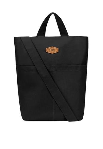 Ripples black Faith Canvas Sling Bag 04696ACDD53BF8GS_1