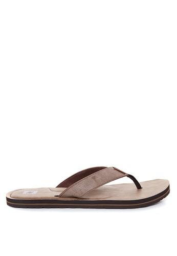 Rip Curl brown Off Set Men Sandals 9963CSH1297FAFGS_1