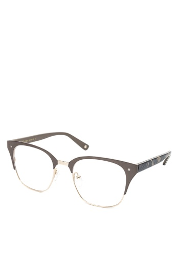 HEX EYEWEAR blue and beige Gambler - Johnny M. - Optical - Italy Design HE671AC2V1LKHK_1
