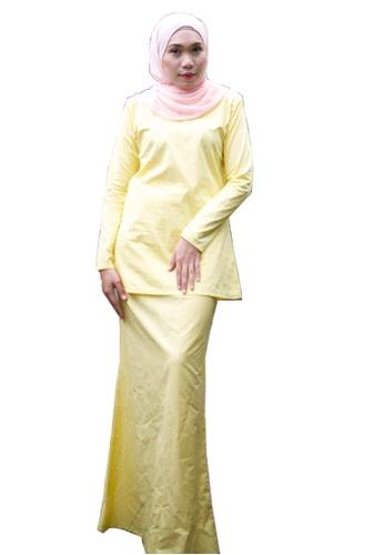Stella Kurung Modern from Kamelia in Yellow