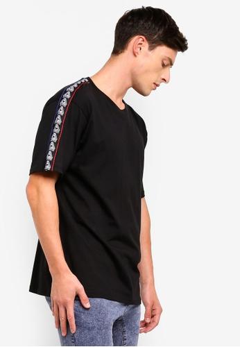 Cotton On 黑色 寬鬆T恤 62B97AAB9AF883GS_1