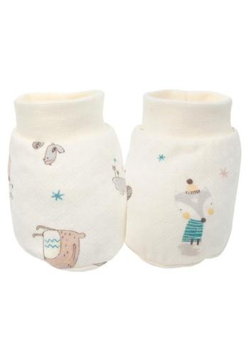 Organic mom beige Magical Forest Socks (WINTER) 12173KA9F955AAGS_1