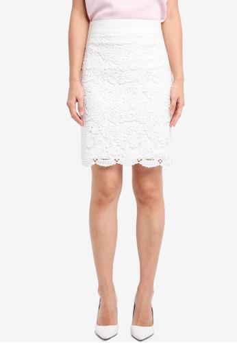 Vesper white Vesper Kylie Lace Mini Skirt 6EFF9AA1EC57AEGS_1