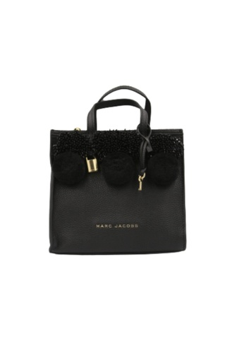 Marc Jacobs black Marc Jacobs Mini The Grind M0013368 Tote Bag In Black 6322FACC7F076FGS_1