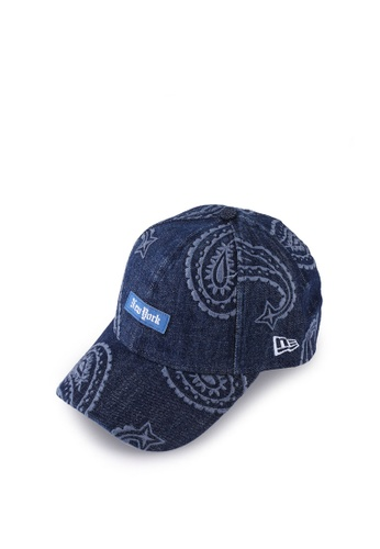 New Era 藍色 940 Paisley Cap 8BF76ACAD789EBGS_1