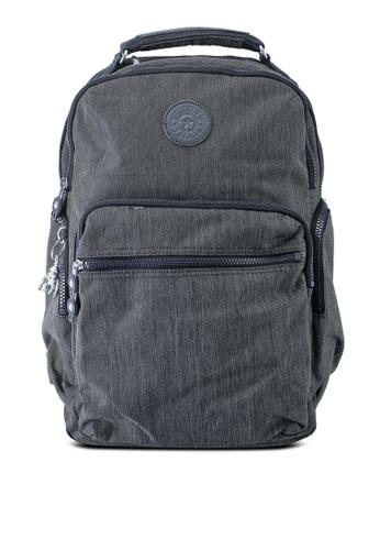 Kipling black Osho Backpack 65EA9AC1246EFCGS_1