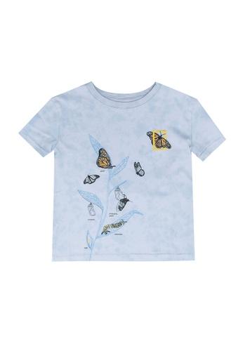 GAP blue National Geographic T-Shirt BFC98KA4AC48F8GS_1