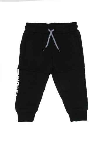 FOX Kids & Baby black Playin It Cool Joggers 6B306KA8D3D22FGS_1