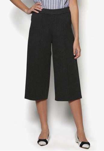 基esprit台北門市本款五分寬管褲, 服飾, 長褲及內搭褲