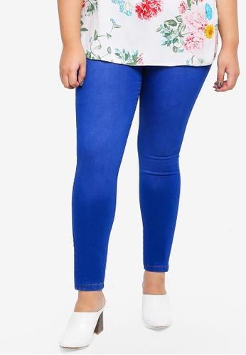 692ad501c85 Dorothy Perkins blue Bright Blue  Eden  Super Soft Jeggings  11FCDAA3DEC47AGS 1