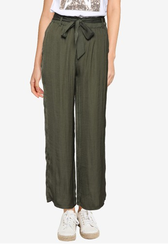 Springfield green Floaty Culottes 77C8CAAE2752BAGS_1