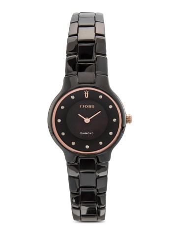 Alida 圓框鍊錶, 錶類,esprit地址 飾品配件