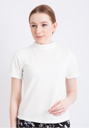 Blanik white Jalynda Short Sleeve T-Shirt BL598AA0WENXID_1