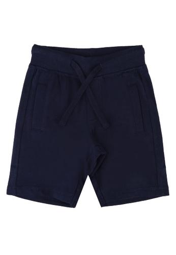 FOX Kids & Baby navy Basic Drawstrings Boy Shorts 0D803KA587B4CDGS_1