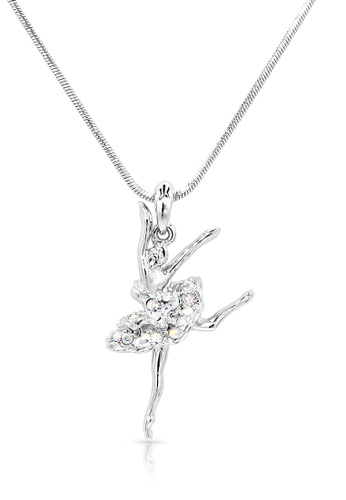 SO SEOUL silver Ellie Ballerina Attitude Necklace 5A7C6AC59FA6EEGS_1