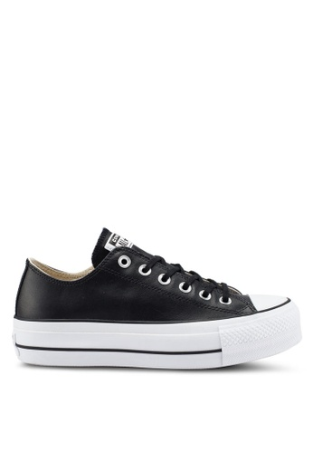 54d47973af70 Buy Converse Chuck Taylor All Star Leather Lift Clean Ox Sneakers ...