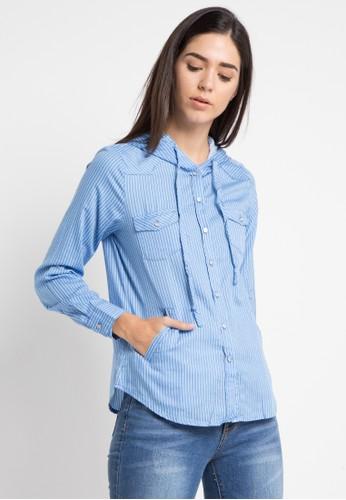 X8 blue Kianna Blouses 31422AAF081771GS_1