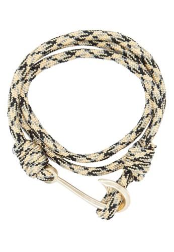 纏繞編繩鉤扣手環, 飾品配件,esprit台灣網頁 手環