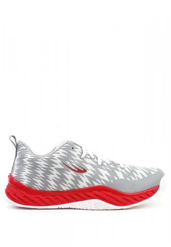 World Balance grey High Voltage Sneakers 05087SH3B5AB04GS_1