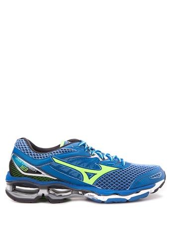 Mizuno blue Wave Creation 18 Running Shoes MI197SH42CMFPH_1