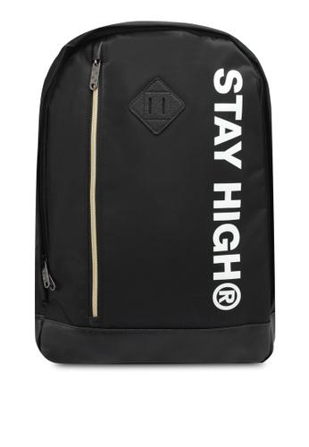 High Cultured black Water-Proof Backpack HI002AC0SPE2MY_1