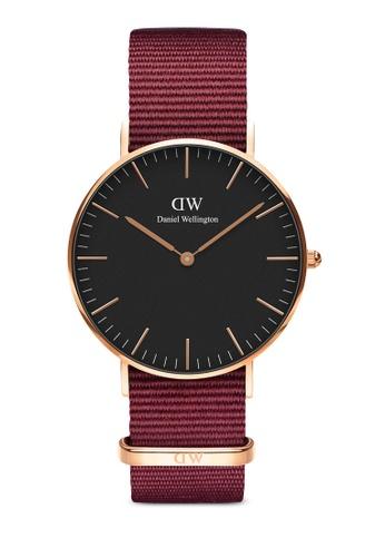 Daniel Wellington gold Classic Roselyn Black 36mm Rose Gold Watch 8221AAC92E4C94GS_1