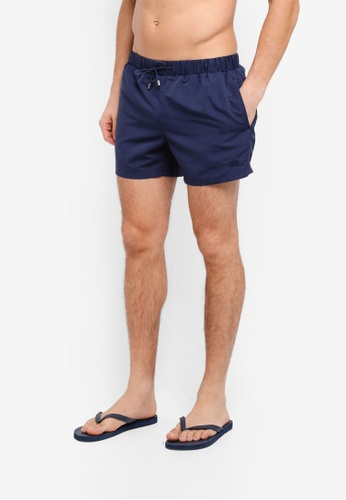 Topman blue Navy Swim Shorts 112C2AAA055DA8GS_1