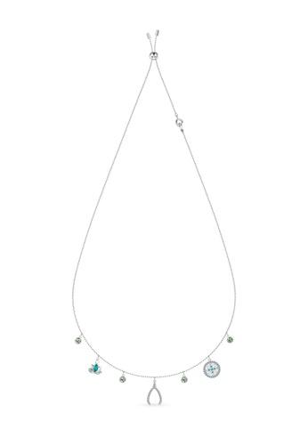 Swarovski silver Swarovski Symbolic Charm Necklace 6CF7CAC8BFB44CGS_1