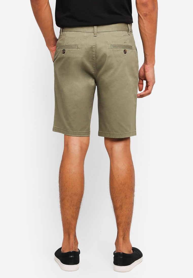 Olive Khaki Chino Burton Shorts London Khaki Menswear Light 0vCqC