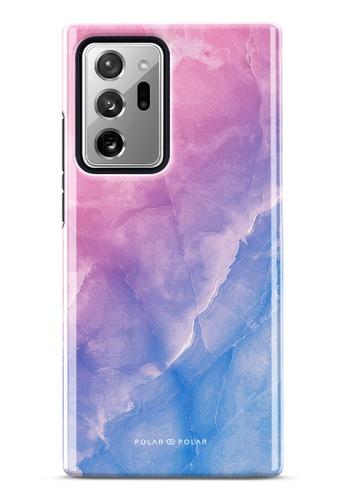 Polar Polar pink Sweet Rainbow Dual-Layer Tough Case Glossy For Samsung Galaxy Note20 Ultra 5G AC18AAC109EF9BGS_1