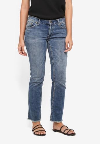 Free People blue Jeans Austen Straight Blue 4BAE8AA5FD9D9BGS_1