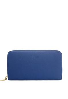 53e48b9c4b98 CHENSON blue Zipper Cellphone Long Wallet Cellphone Purse 5DD28ACB89DFA5GS_1
