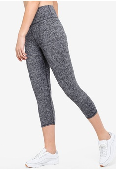 0dcfc5b6122ea Cotton On Body grey Active Core Cropped Tights 22CB0AAF48881AGS_1