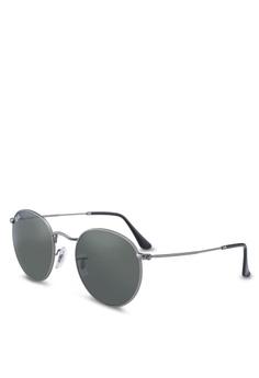 8754dd8c4129 Ray-Ban grey Icons RB3447 Sunglasses 800C6GL63EF416GS 1