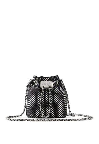 ALDO black Sologna Bucket Bag 214FAAC1ED9D2DGS_1