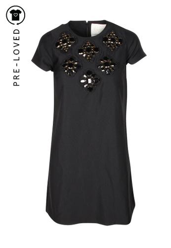 Karta black Pre-Loved karta Black Embellished Dress 291E4AA620CD1CGS_1