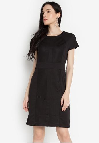 J&M black Monic Dress JM006AA0KJ35PH_1