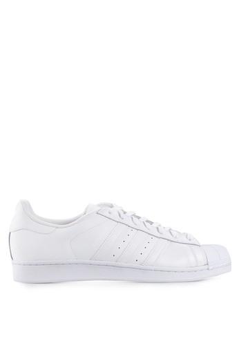 ADIDAS white adidas originals superstar foundation shoes AD349SH89JXMID_1