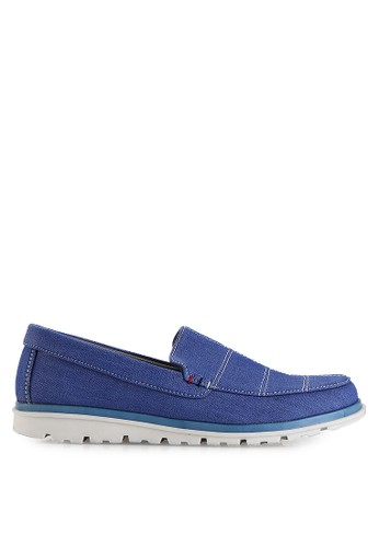 Dr. Kevin blue Loafers, Moccasins & Boat Shoes Shoes 13294 Biru Denim DR982SH11MHSID_1