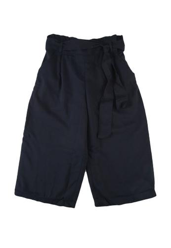 Abercrombie & Fitch black Paperbag Waist Pants E81DFKA6BB503DGS_1