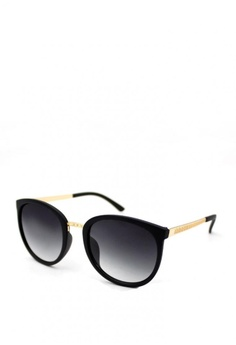 bdc33750e4e Peculiar and Odd black Oversized Round Cat Eye 3126 Sunglasses  3439AGL523E387GS 1