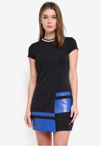 FILA black Jason Wu Two-tone Dress 1EEC2AA7A5F10BGS_1