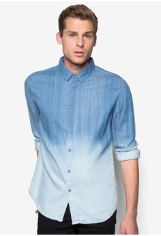 Ombre Washed? Long Sleeve Shirt