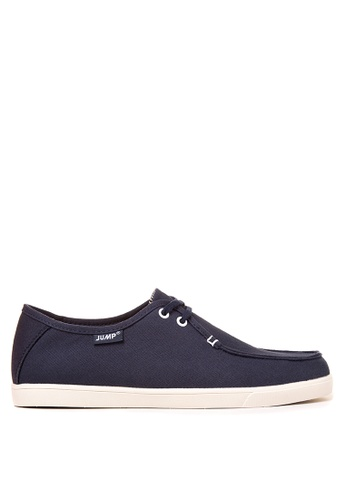 Jump navy Darwin Lace Up Sneakers JU701SH38DGZPH_1